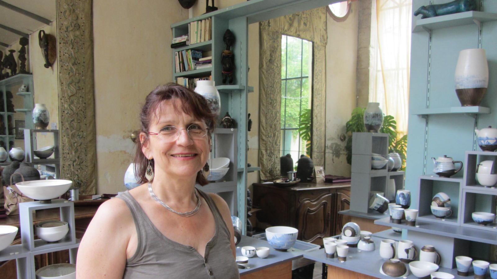 Brigitte Chapelier, Céramiste