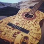 Guitare pyrograver Samnuts