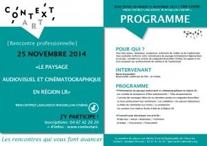 invitation renc pro LR cinéma-251114