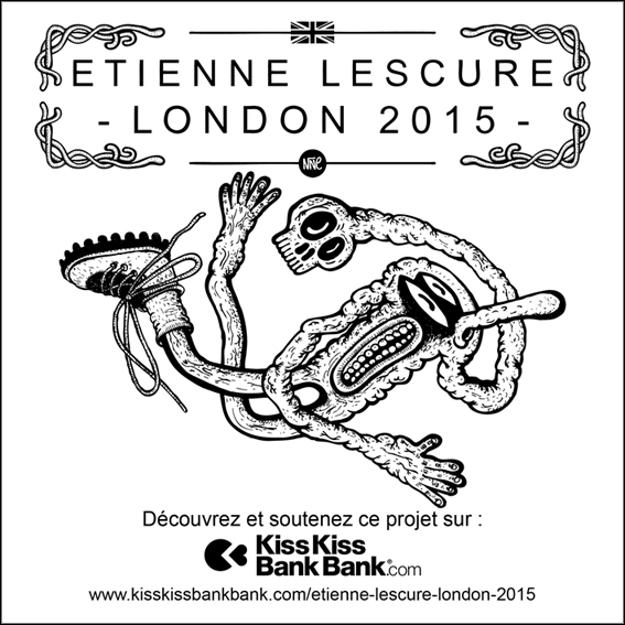 Soutenez le projet London 2015 d'Etienne Lescure sur Kisskissbankbank