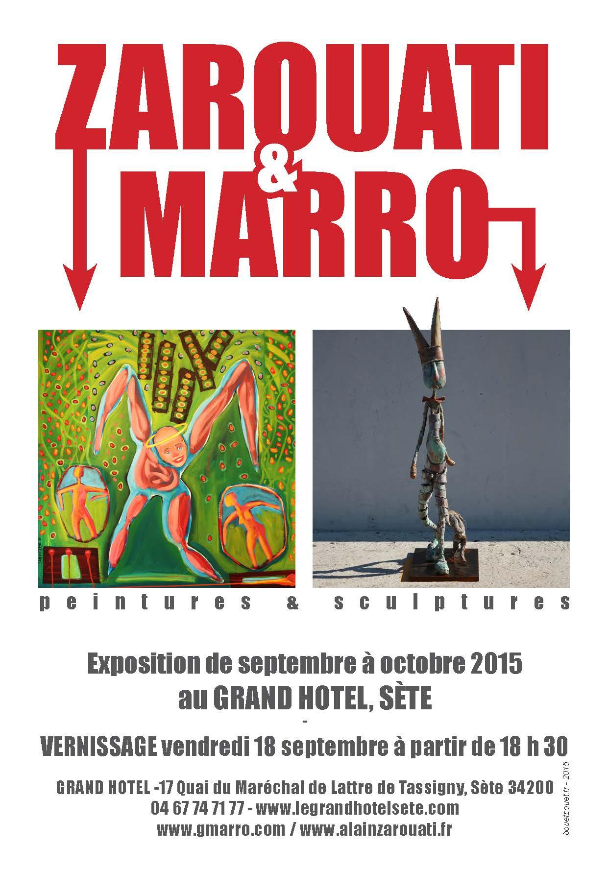 Il y a de l'expo dans l'air au Grand hôtel de Sète – sept/oct 2015