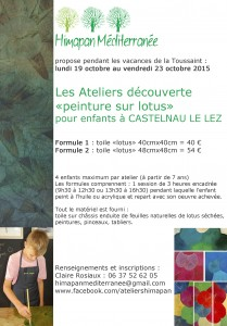 Les Ateliers A5 oct 2015