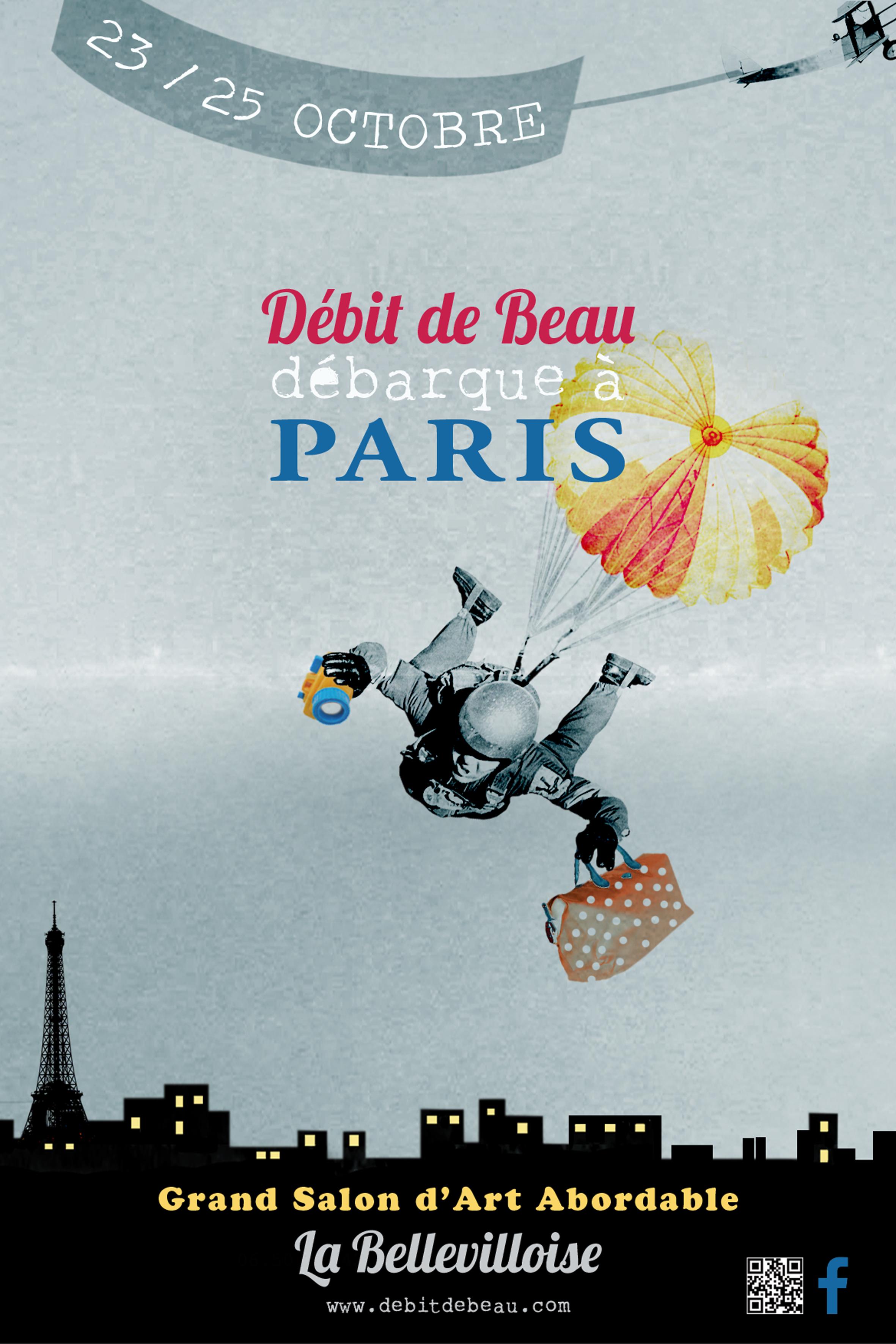 Débit de beau en expo … à Paris