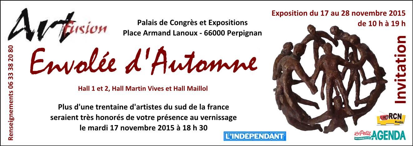 "Expo ""Envolée d'automne"" – Perpignan – 17 au 28 novembre 2015"