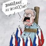 Dessin de presse Jean-Marie Le Pen-© Maxime Masgrau