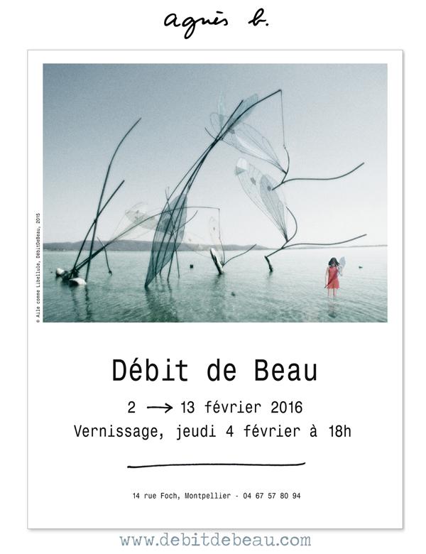 Débit de Beau chez Agnès B…. Montpellier