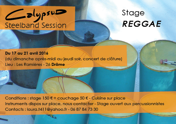 Stage Steelband – 17 au 21 avril 2016 – Les Ramières(26)