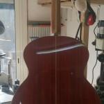 2-Modèle baritone fan frets de dos