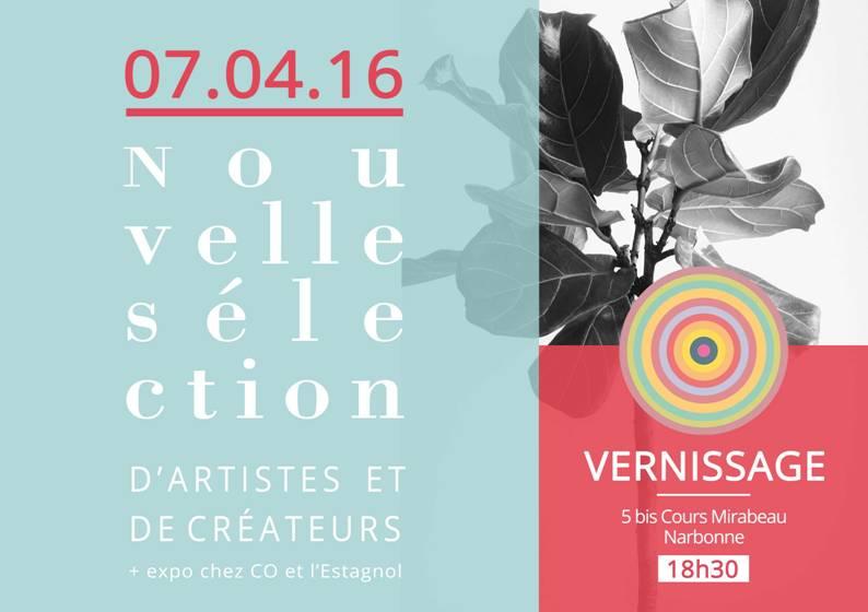Nouvelle sélection de créateurs- boutique Vue sur Cours – 7 avril 2016 – Narbonne
