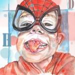 hemrick masque spider man-affiche super heros-basse résolution
