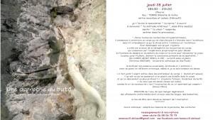 butÔ atelier narure 28 juillet
