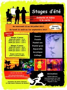 Stage étét 2017