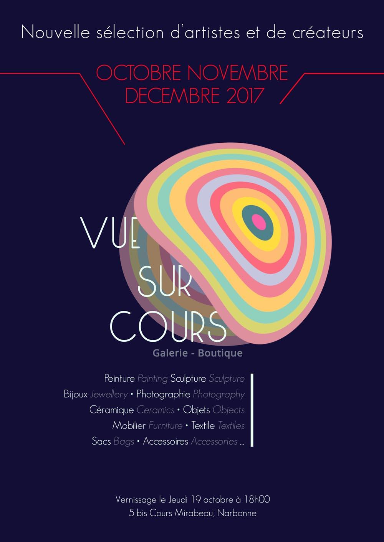 Vernissage de la nouvelle sélection Vue sur cour – 19 octobre – Narbonne