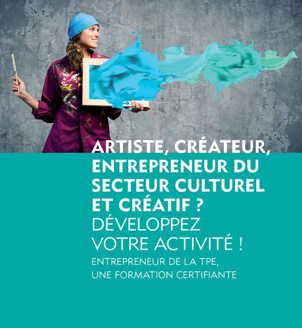 FORMATION CERTIFIANTE > Entreprendre dans L'Economie Créative // 13 MAI 2019