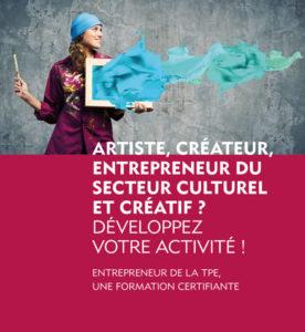 Artiste, créateur, entrepreneur du secteur culturel
