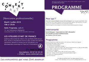 Programme Rencontre Pro 2 juillet 2019