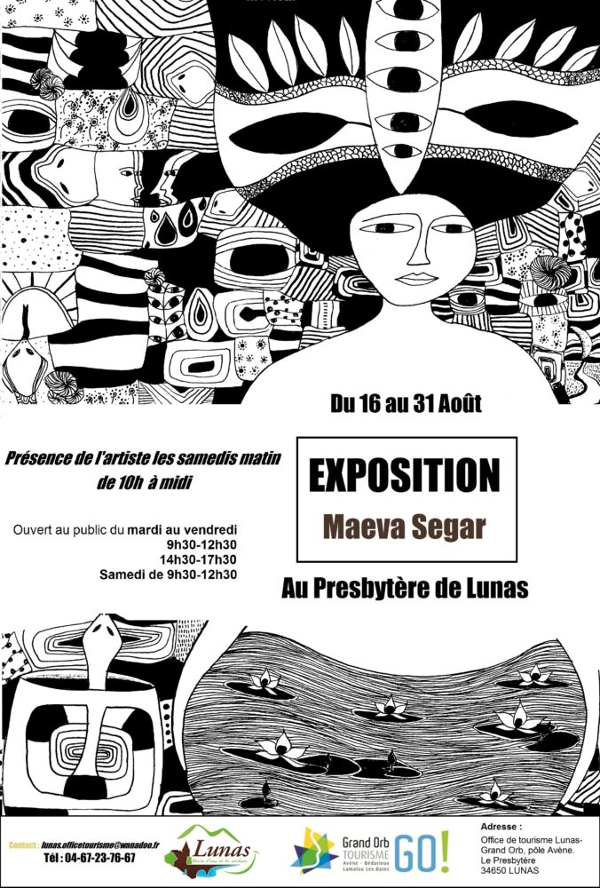 [ACTU CRÉATEUR] Exposition de Maeva Segar à Lunas
