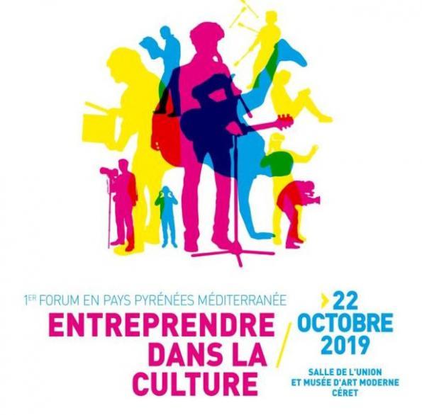 [MANIFESTATION] Entreprendre dans la culture – 22 octobre à Céret